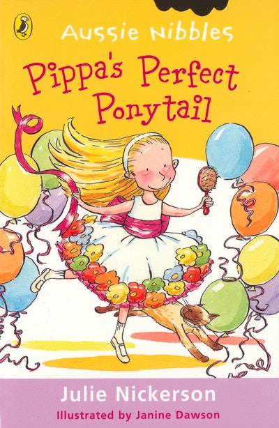 Book Cover:  Pippa's Perfect Ponytail: Aussie Nibbles