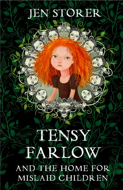 Book Cover:  Tensy Farlow and the Home for Mislaid Children