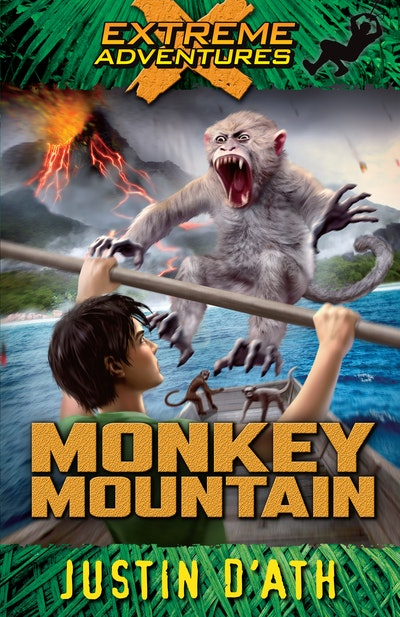 Book Cover:  Monkey Mountain: Extreme Adventures