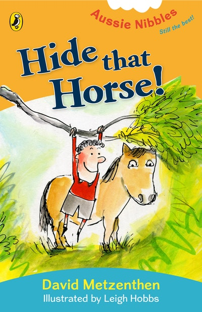 Book Cover:  Hide That Horse!:Aussie Nibbles