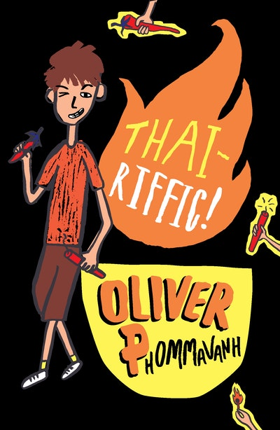 Book Cover:  Thai-riffic!