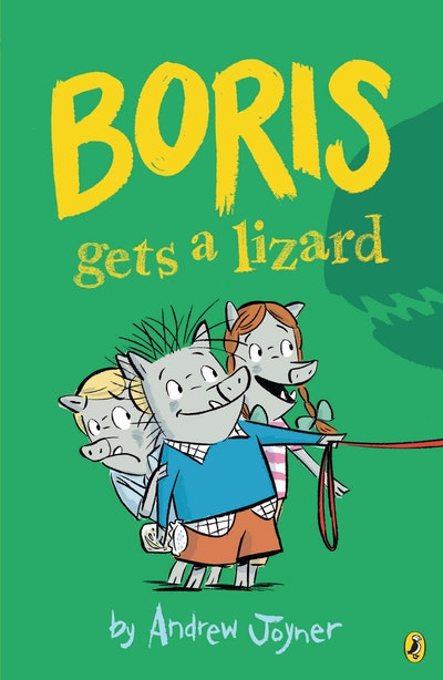 Book Cover:  Boris Gets a Lizard
