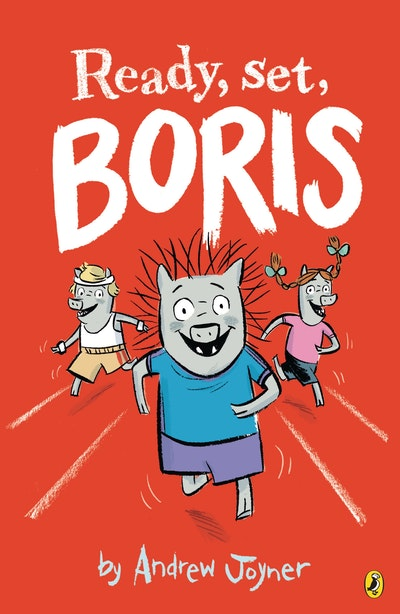 Book Cover:  Ready, Set, Boris