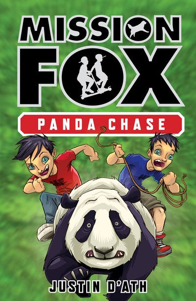 Book Cover:  Panda Chase: Mission Fox Book 2