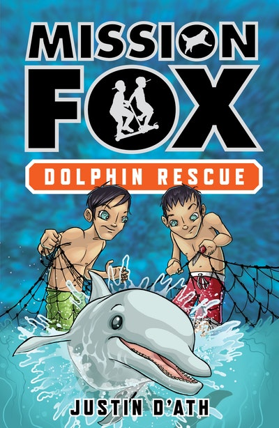 Book Cover:  Dolphin Rescue: Mission Fox Book 3
