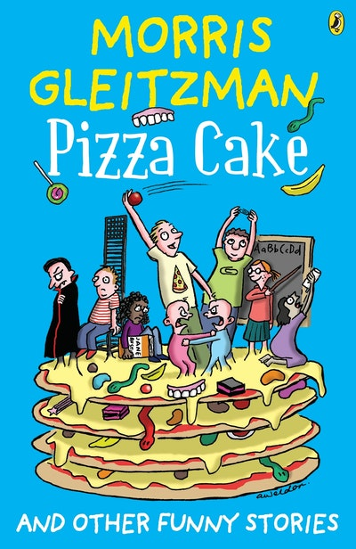 Book Cover:  Pizza Cake