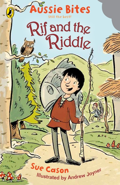 Book Cover:  Rif and the Riddle: Aussie Bites