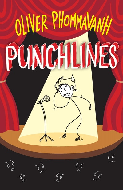 Book Cover:  Punchlines
