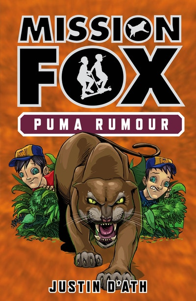 Book Cover:  Puma Rumour: Mission Fox Book 6