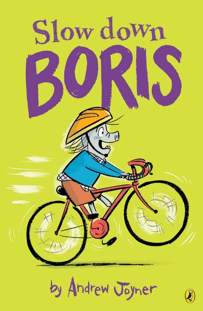Book Cover:  Slow Down Boris