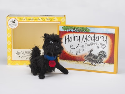 Book Cover:  Hairy Maclary Book and Toy Set