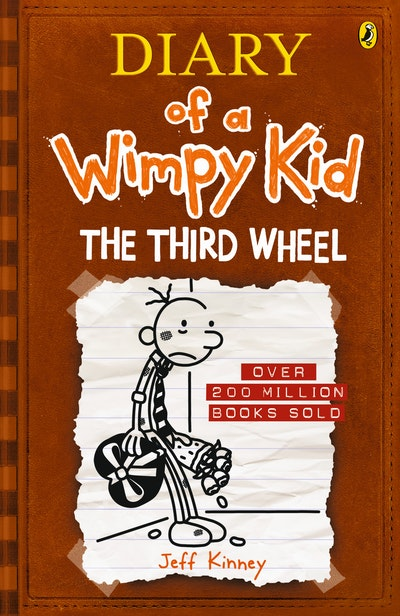 Book Cover: The Third Wheel: Diary of a Wimpy Kid