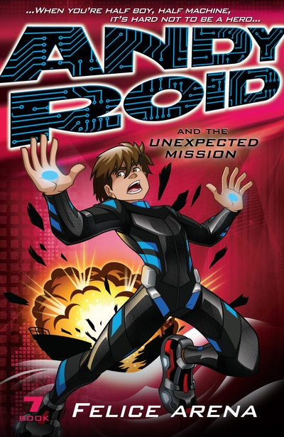 Book Cover:  Andy Roid and the Unexpected Mission