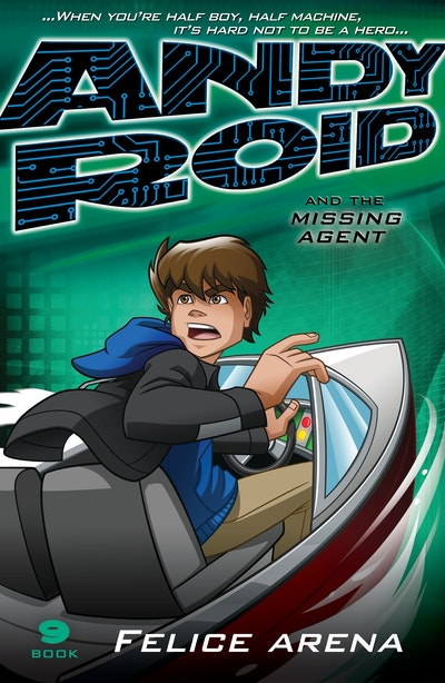 Book Cover:  Andy Roid & the Missing Agent