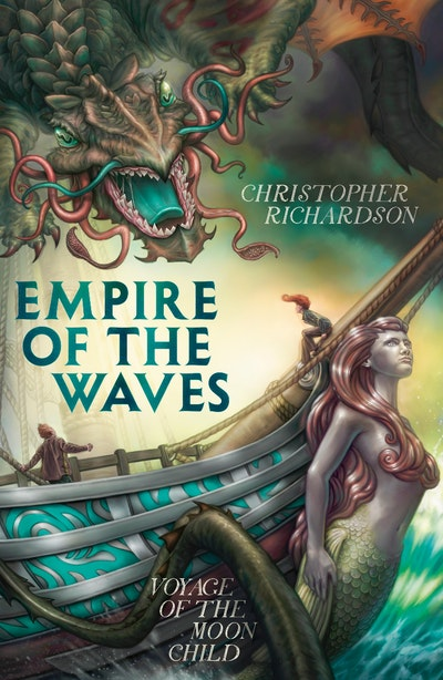 Book Cover:  Empire of the Waves: Voyage of the Moon Child