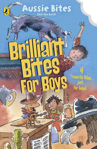 Book Cover:  Brilliant Bites for Boys: Four favourite Bites just for boys!