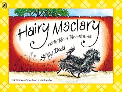 Book Cover:  Hairy Maclary no te Teri a Tanarahana