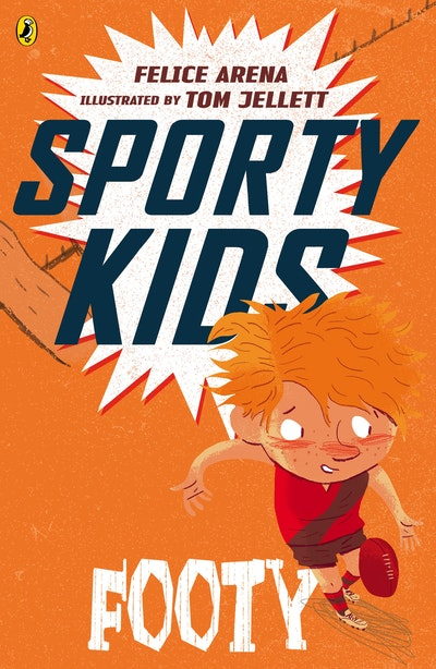 Book Cover:  Sporty Kids: Footy!