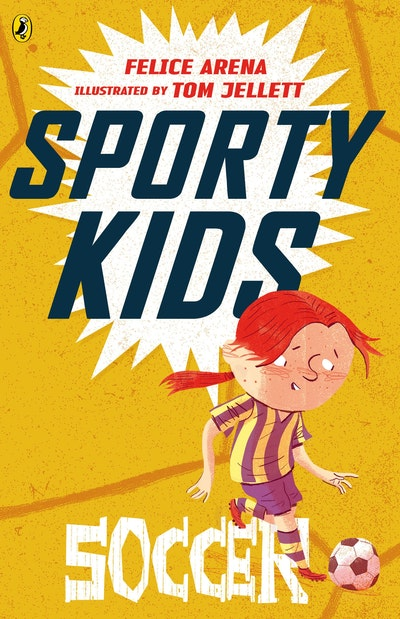 Book Cover:  Sporty Kids: Soccer!