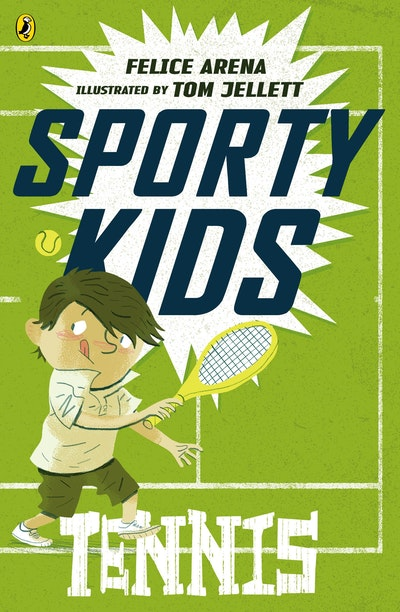 Book Cover:  Sporty Kids: Tennis!