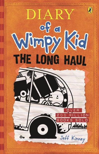 Book Cover: The Long Haul: Diary of a Wimpy Kid