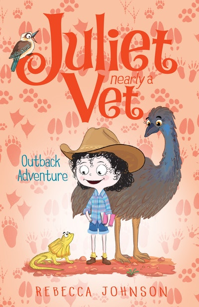 Book Cover:  Outback Adventure: Juliet, Nearly a Vet (Book 9)