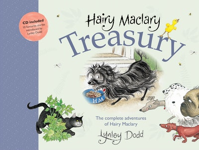 Book Cover:  Hairy Maclary Treasury: The Complete Adventures of Hairy Maclary