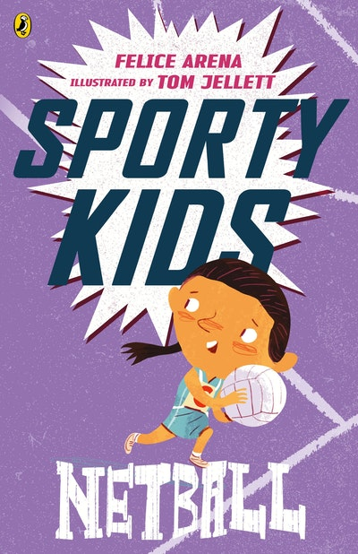 Book Cover:  Sporty Kids: Netball!