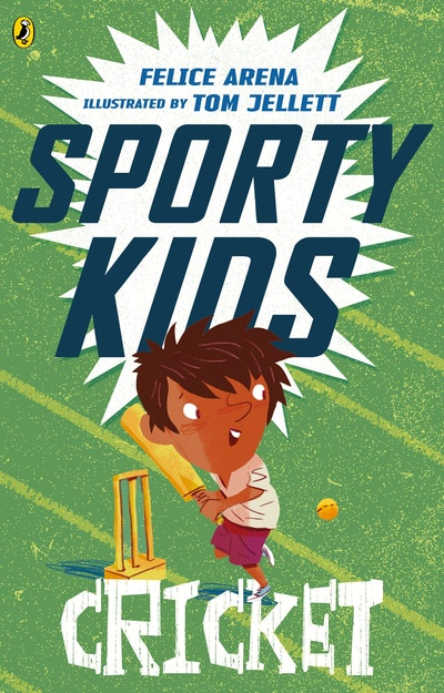 Book Cover:  Sporty Kids: Cricket!