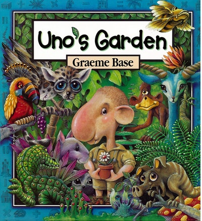 Book Cover:  Uno's Garden
