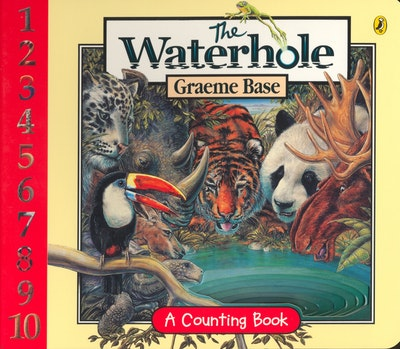 Book Cover: The Waterhole Board Book