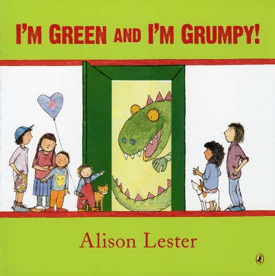 Book Cover:  I'm Green and I'm Grumpy!