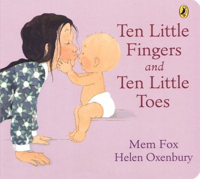 Book Cover:  Ten Little Fingers And Ten Little Toes Board Book