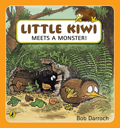 Book Cover:  Little Kiwi Meets a Monster