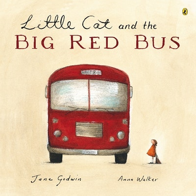Book Cover:  Little Cat And The Big Red Bus