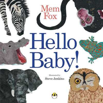 Book Cover:  Hello Baby! Board Book