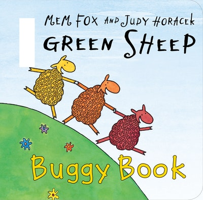 Book Cover:  Green Sheep Buggy Book