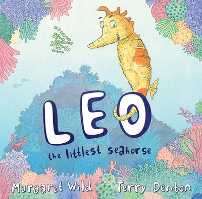 Book Cover:  Leo the Littlest Seahorse