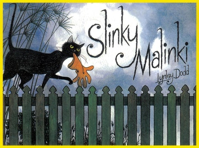 Book Cover:  Slinky Malinki