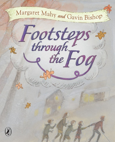 Book Cover:  Footsteps Through The Fog