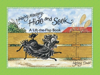 Book Cover:  Hairy Maclary, Hide and Seek