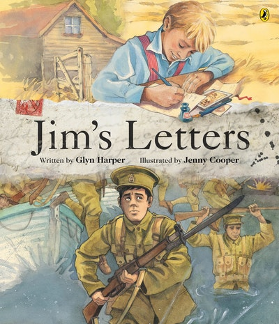 Book Cover:  Jim's Letters