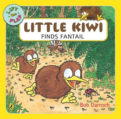Book Cover:  Little Kiwi Finds Fantail