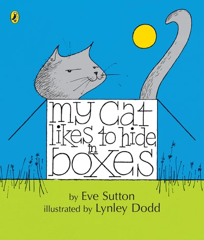 Book Cover:  My Cat Likes to Hide in Boxes