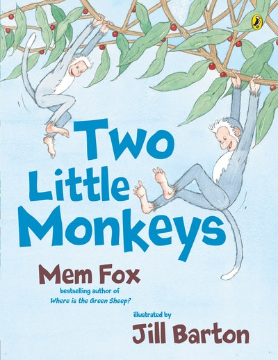 Book Cover:  Two Little Monkeys