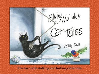 Book Cover:  Slinky Malinki's Cat Tales