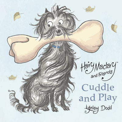 Book Cover:  Hairy Maclary and Friends Cuddle and Play: A crinkly cloth book