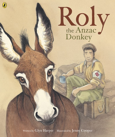 Book Cover:  Roly, The Anzac Donkey