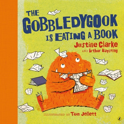 Book Cover:  Gobbledygook Is Eating A Book