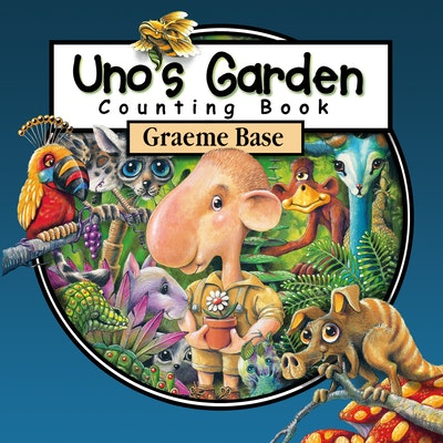 Book Cover:  Uno's Garden Counting Book